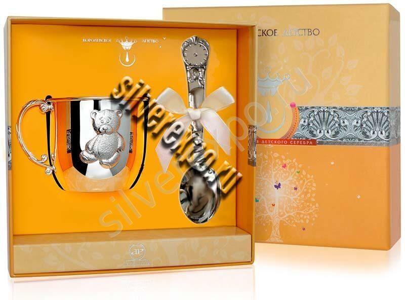 Подарок на первый зуб медведь Zaramella Argenti (Италия) АЗ01011