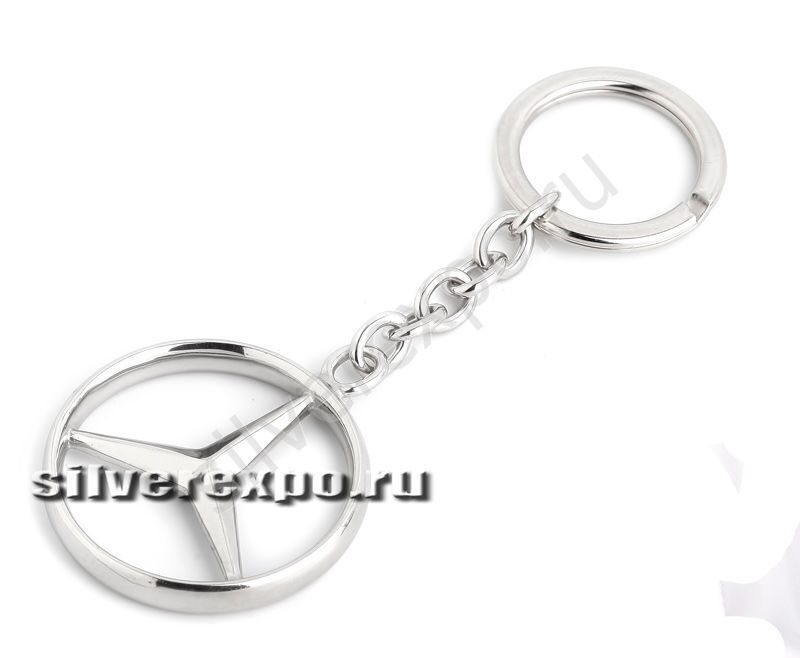 Брелок серебряный Mercedes-Benz Серебряная Симфония г.Москва 1007с