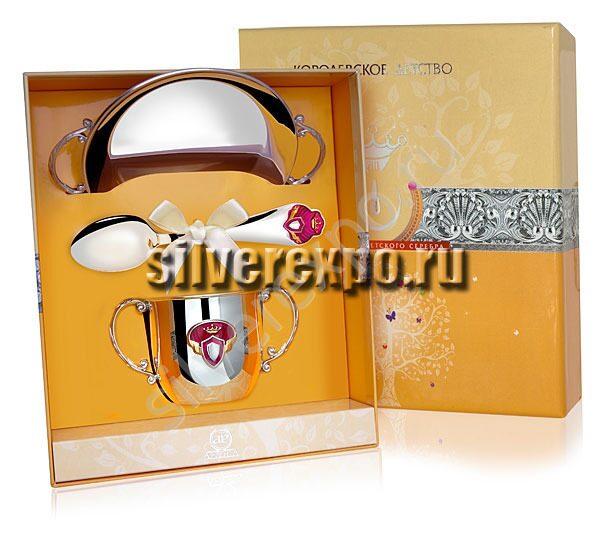 Набор серебряный Принцесса Фабрика серебра АРГЕНТА 471НБ05801
