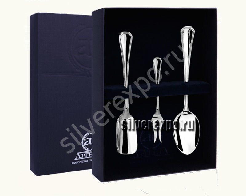 Серебряный подарочный набор Элегант Фабрика серебра АРГЕНТА 00265