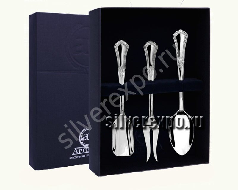 Серебряный подарочный набор Фаворит Фабрика серебра АРГЕНТА 00261