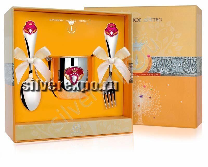 Серебряный подарок для Принцессы Фабрика серебра АРГЕНТА 442-58