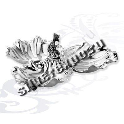 Менажница серебряная КИТ Calegaro Италия AK134IL
