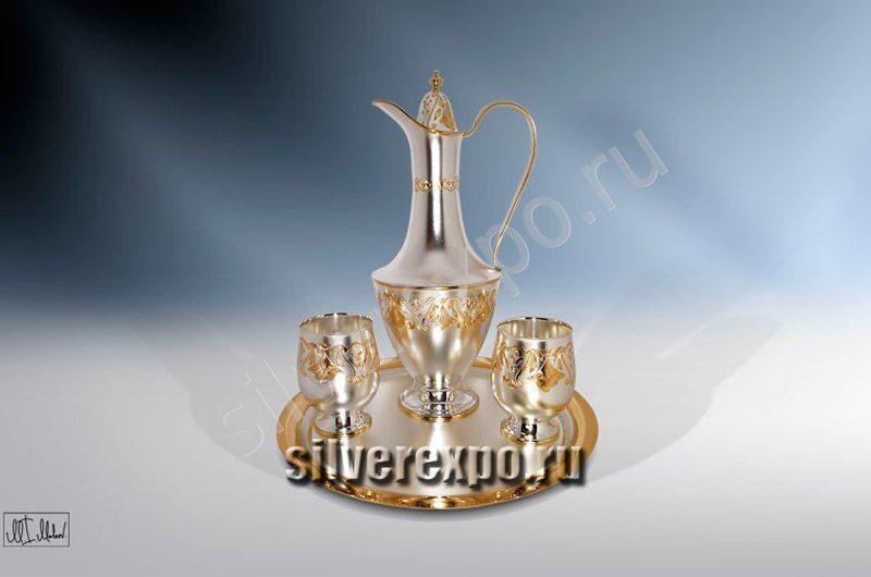 Серебряный набор для напитков Восток ЗАО «Мстерский Ювелир» 804025