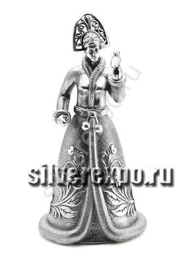 Колокольчик из серебра Снегурочка Альтмастер Кострома АЛТ1024