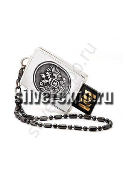 Серебряная флешка Герб Альтмастер Кострома АЛТ2220