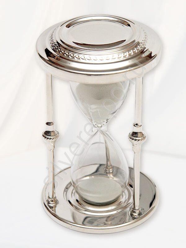 Песочные часы, сувенир серебро Argenterie Raddi Renato Италия 0110293