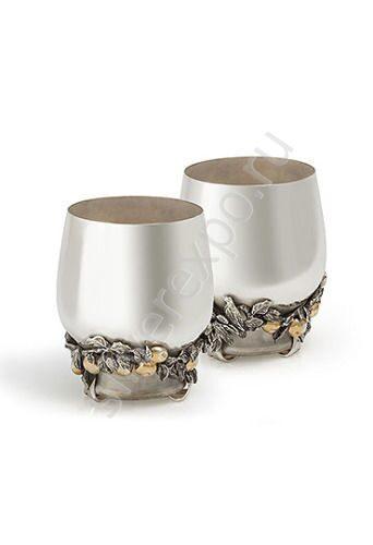 Серебряные стаканы Яблочный Спас Альтмастер Кострома 288415