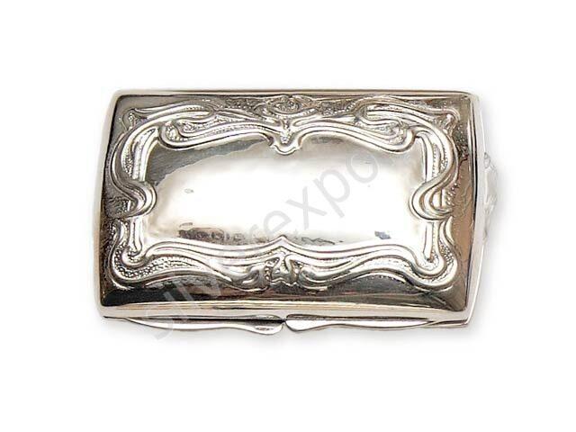 Шкатулка из серебра Argenterie Raddi Renato Италия 0130410/А
