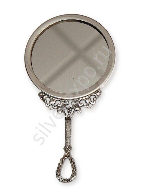 Серебряное зеркало барокко Argenterie Raddi Renato Италия 0011315/A2