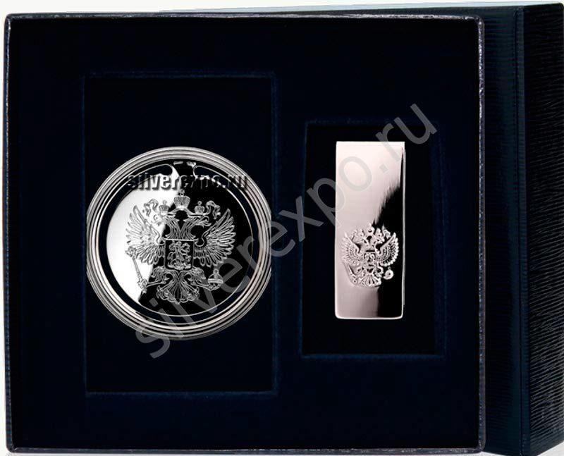 Серебряные сувениры Герб Фабрика серебра АРГЕНТА 290НБ0202