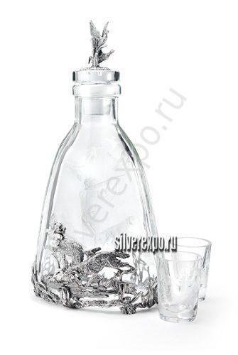 Хрустальный водочный набор Царские трофеи Альтмастер Кострома 141276