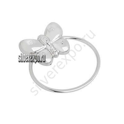 Серебряная погремушка Бабочка VALENTI Италия 224680