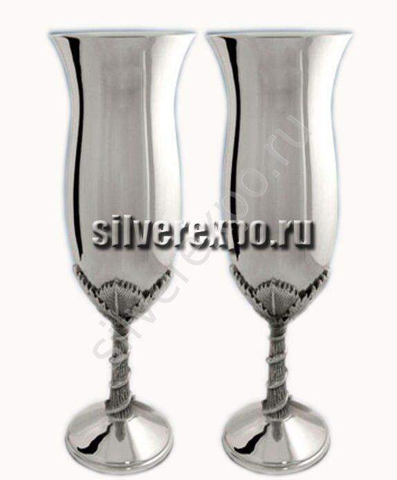 Серебряные бокалы Тюльпан ЗАО «Мстерский Ювелир» 17НБ03