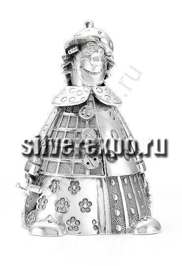 Серебряный колокольчик Клоун Альтмастер Кострома 57856