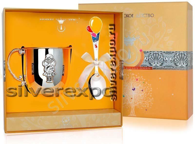Серебряный детский набор Мечта Фабрика серебра АРГЕНТА 732НБ05002
