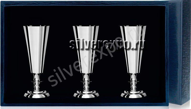 Серебряные рюмки № 2 Фабрика серебра АРГЕНТА 027РМ00001/3