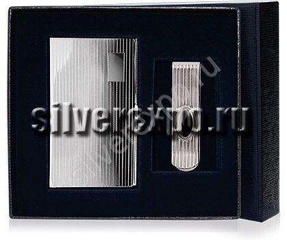 Серебряный подарок с визитницей Bicama Италия ВС 100