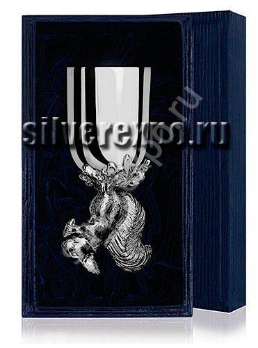 Серебряная рюмка Белка Фабрика серебра АРГЕНТА 024РМ00001