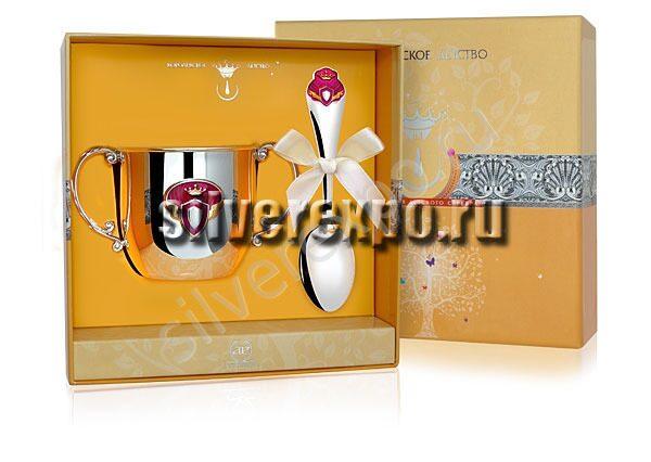 Серебряный набор Принцесса Фабрика серебра АРГЕНТА 189-771