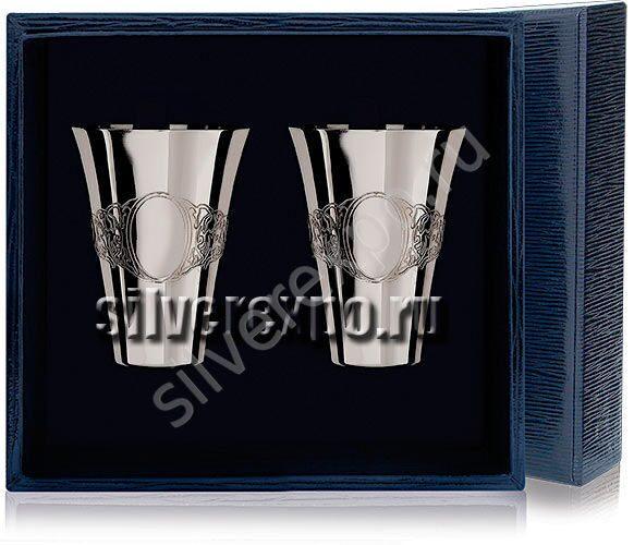 Серебряные стопки Подарочные Фабрика серебра АРГЕНТА 3554/2