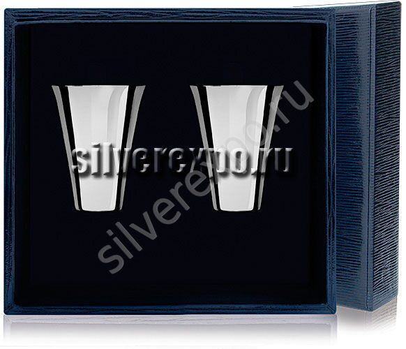 Стопки серебряные большие Фабрика серебра АРГЕНТА 030СТ00001/2