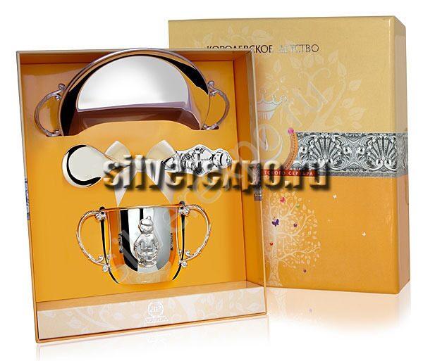 Серебряный набор для Мальчика Фабрика серебра АРГЕНТА 003НБ05801