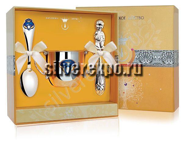Серебряный набор Принц Фабрика серебра АРГЕНТА 177-20