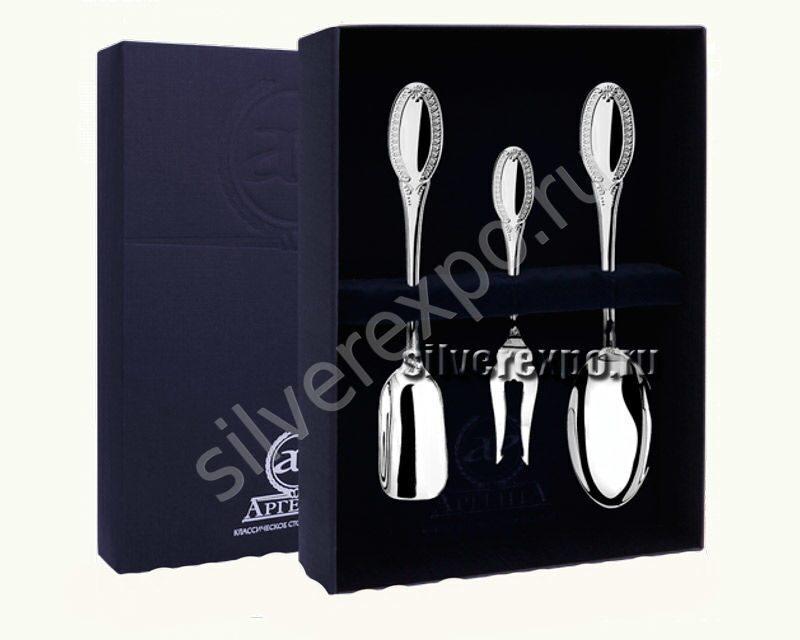 Серебряный подарочный набор Император Фабрика серебра АРГЕНТА 00255