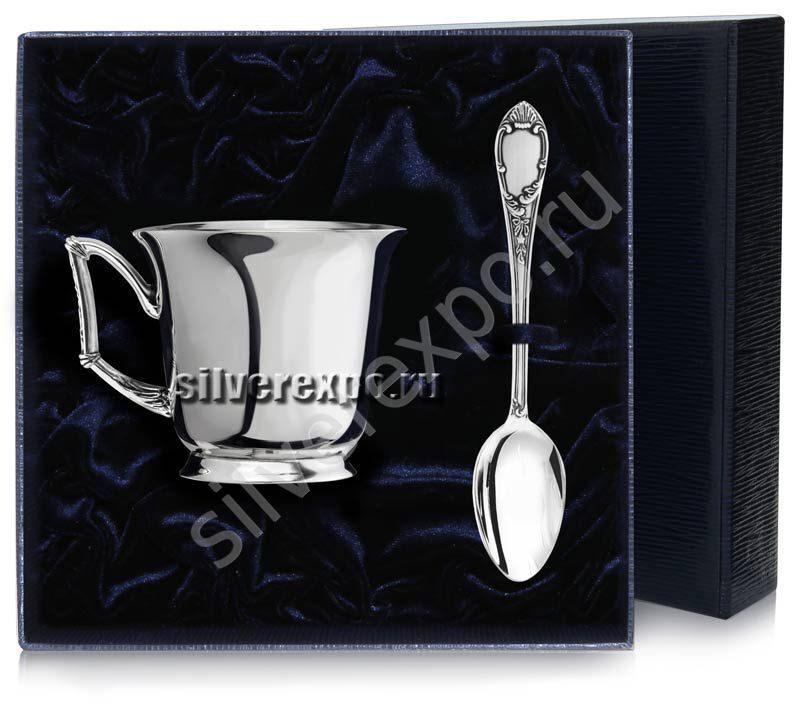 Серебряный чайный набор Элегия Фабрика серебра АРГЕНТА 959НБ03006