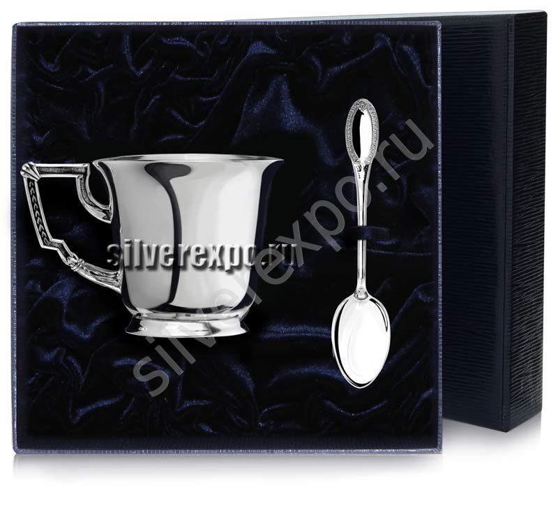 Серебряный чайный набор Император Фабрика серебра АРГЕНТА 960НБ03006