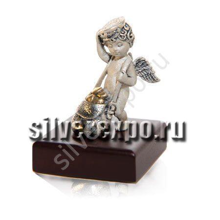 Статуэтка из серебра Амур ООО «Золотой Стандарт» 992026