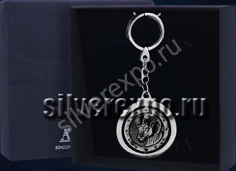 Серебряный брелок Амулет Коза Фабрика серебра АРГЕНТА 745БР15806