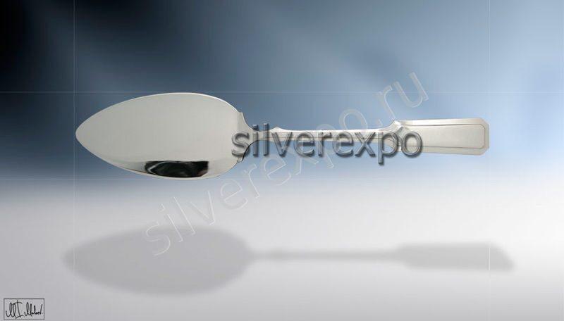 Серебряная лопатка для торта Классика ЗАО «Мстерский Ювелир» 400425