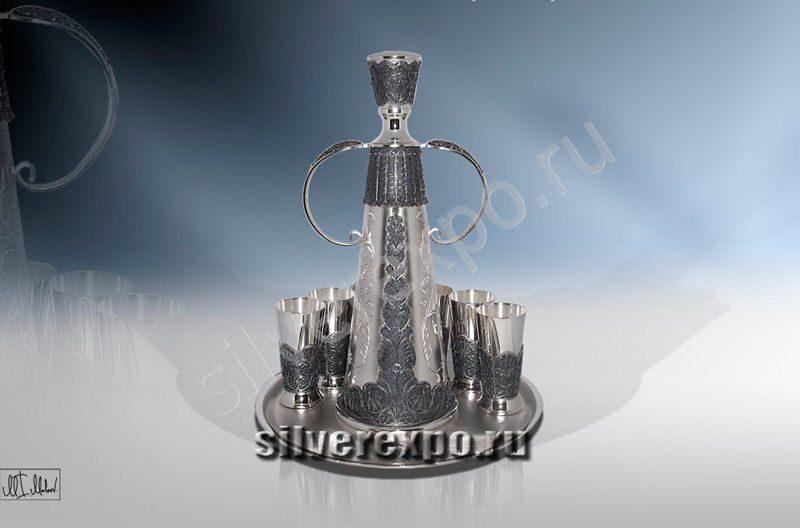 Серебряный подарочный набор Сударыня ЗАО «Мстерский Ювелир» 3803523