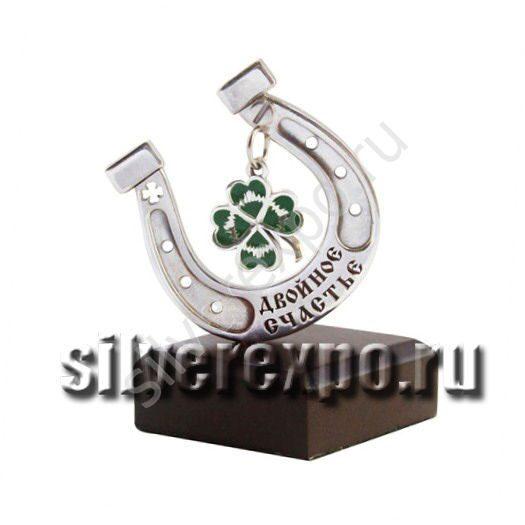 Серебряный сувенир на счастье ООО «Золотой Стандарт» 5689