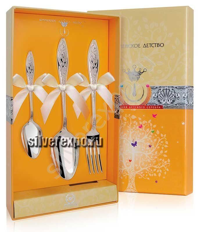 Десертное серебро Морозко Фабрика серебра АРГЕНТА 042НБ02001/3