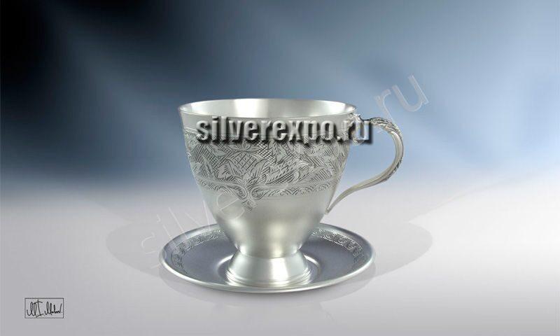 Серебряная чашка Аленький Цветочек ЗАО «Мстерский Ювелир» С33687602025