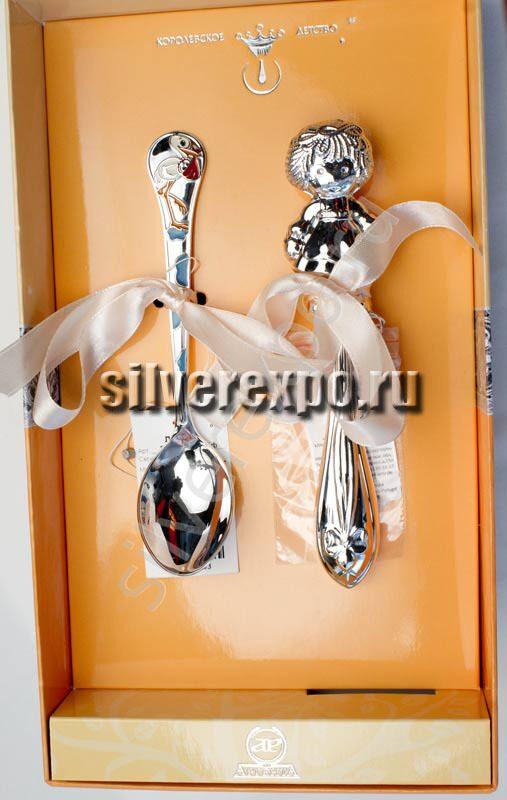 Серебряный набор Малышке Фабрика серебра АРГЕНТА 32568