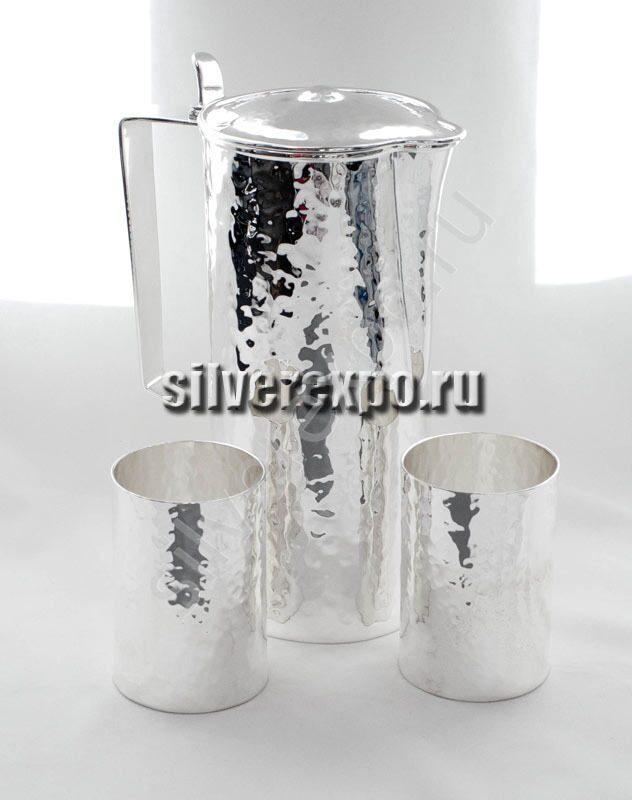 Серебряный набор для напитков Акварис -2. Bicama Италия 578/с/3