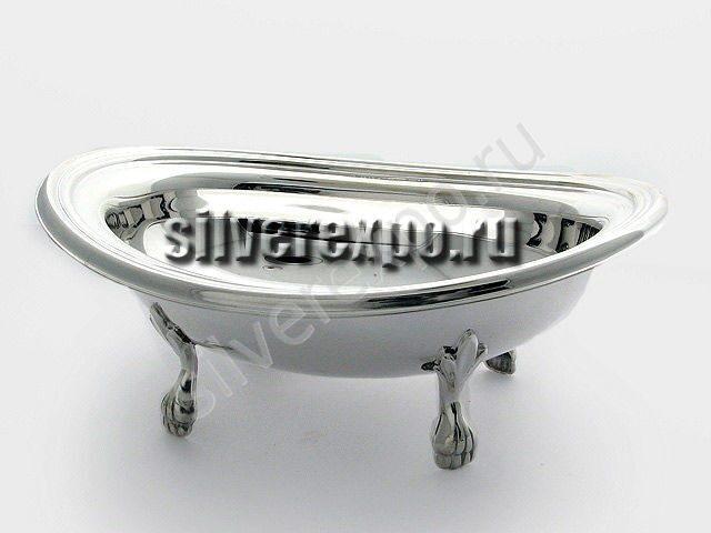 Серебряная сахарница Джентельмен Greggio Италия 8970802
