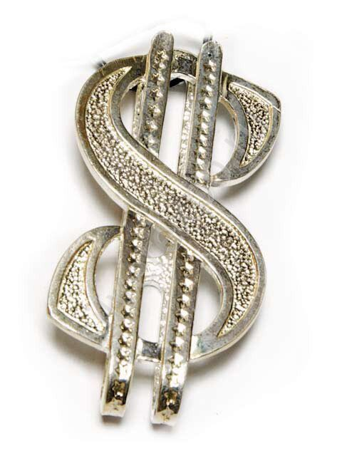 Зажим для денег серебряный Доллар Фабрика серебра АРГЕНТА 0513Ж10001