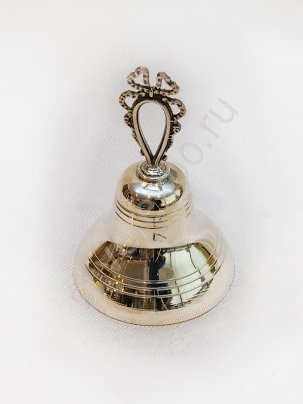 Серебряный колокольчик бантик Argenterie Raddi Renato Италия 0110294/A