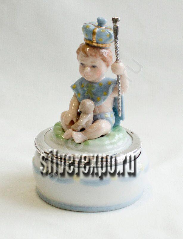 Музыкальная шкатулка Принц Raddi Италия 0040793