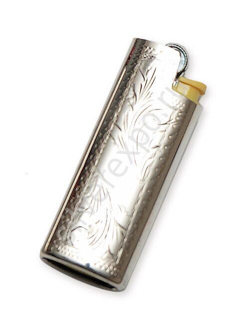 Чехол для зажигалки серебряный Argenterie Raddi Renato Италия 333