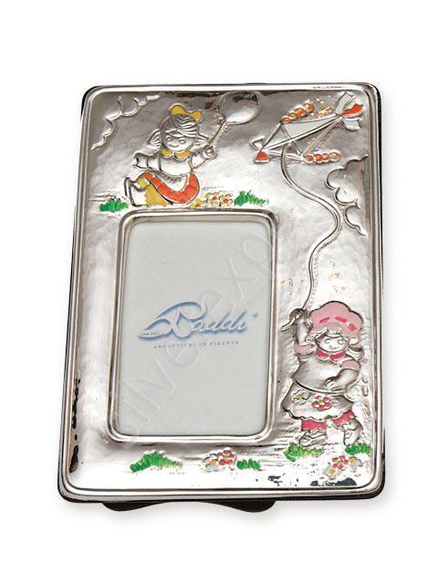 Фоторамка серебряная Девочка Raddi Италия 0040289