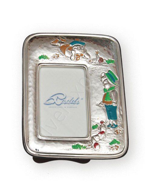 Рамка для фотографии из серебра Raddi Италия 0040290