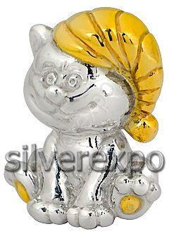 Серебряный котенок Алмаз - холдинг (Россия) 3402050493